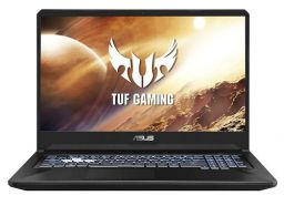 (Renewed) ASUS TUF Gaming FX705DT-AU092T 17.3Inch FHD Laptop GTX 1650 4GB Graphics (Ryzen 5-3550H/8GB RAM/512GB NVMe SSD/Windows 10/2.70 kg), Stealth Black