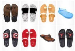 Upto 70% off on Men's flip flops