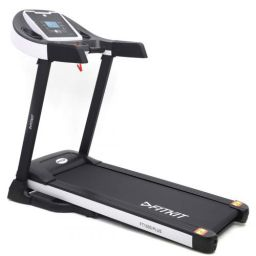 Fitkit FT100 Series 1.75HP (3.25HP Peak) with Manual Inclination, Free Installation, 3 Months Personal Dietician Motorized Treadmill
