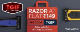 Premium 5 Blade Razors at Just Rs.149