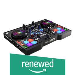 (Renewed) Hercules DJ 4780861 Dual-Deck Controller