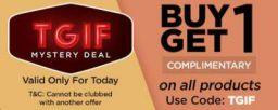 TGIF Mystery Deal: Get Buy 1 Get 1 on Pro Hygiene series
