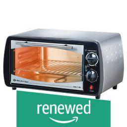 (Renewed) Bajaj 1000 TSS 10-Litre Oven Toaster Grill (Silver/Black)