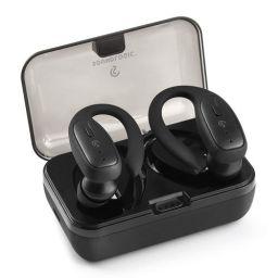 Soundlogic True Sports True Wireless Sports Earbuds Bluetooth TWS Earphone IPX4 Water Resistance with Deep Bass