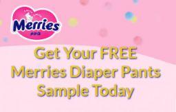 Free Merries Diapers Sample