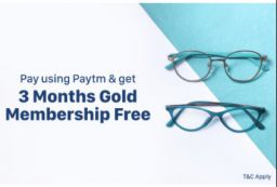 Free Lenskart Gold membership for 3 months