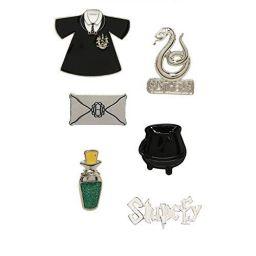 Harry Potter Slytherin Stupefy Pin Set