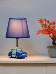 @home by Nilkamal Car Table Lamp (Blue)