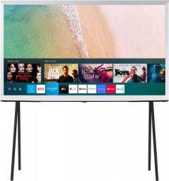 Samsung The Serif Series 123 cm (49 Inches) 4K Ultra HD Smart QLED TV QA49LS01TAKXXL (Cloud White) (2020 Model)