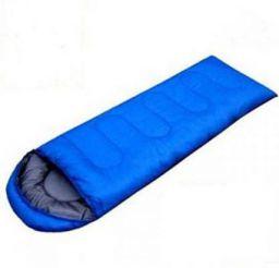 Iris Outdoor Sleeping Bag (Blue)