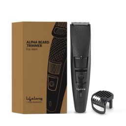 Lifelong LLPCM13 Cordless Beard Trimmer for men, Runtime: 45 minutes