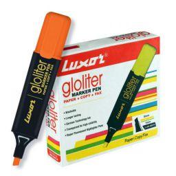 Luxor 887 N Highlighter - Orange - Box of 10