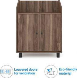 @home by Nilkamal Aze Engineered Wood Shoe Rack  (3 Shelves)