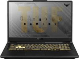 Asus TUF Gaming A17 Ryzen 5 Hexa Core - (8 GB/1 TB HDD/256 GB SSD/Windows 10 Home/4 GB Graphics/NVIDIA Geforce GTX 1650 Ti) FA706II-H7186T Gaming Laptop