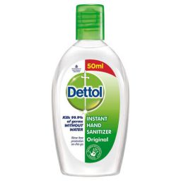 Dettol Original Germ Protection Alcohol based Hand Sanitizer 50ml