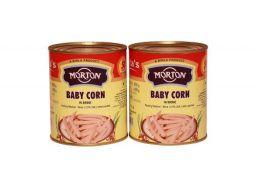 Morton Baby Corn, 800 g (Pack of 2)