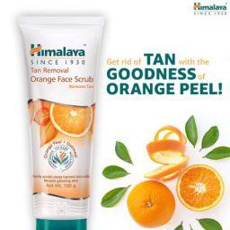 Himalaya Tan Removal Orange Face Scrub  (100 g)