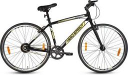 Hero Sapphire 27T 700C T Road Cycle (Single Speed, Black, Yellow)