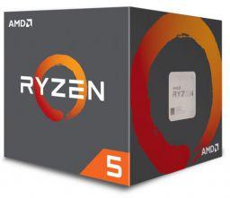 AMD Ryzen 5 1600 Desktop Processor 6 Cores up to 3.6GHz 19MB Cache AM4 Socket (YD1600BBAEBOX)