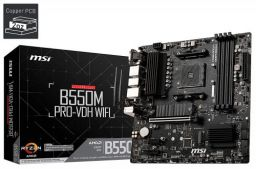 MSI B550M PRO-VDH WiFi AMD Socket AM4 MATX Motherboard