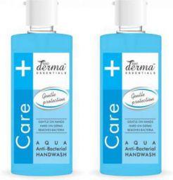 True Derma Essentials Anti - Bacterial Hand Wash (Aqua) Hand Wash Bottle (2 x 580 ml)
