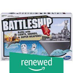 (Renewed) Hasbro Electronic Battleship Board Game
