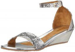BATA Women's Duffy Golden Fashion Sandals
