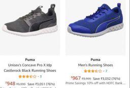 Puma Men's Shoes Upto 77% Off