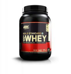 Optimum Nutrition (ON) Gold Standard 100% Whey Protein - 2 lbs, 907 g