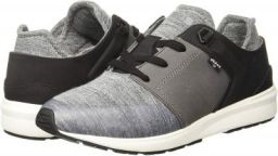 Levi's Women Black Tab Runner Regular Grey Boating Shoes