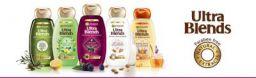 Garnier Ultra Blends Shampoo, Henna & Blackberry, 180ml
