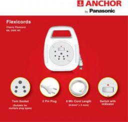 Anchor 5219 6 A Two Pin Socket