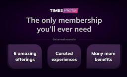 Times Prime Membership at 199