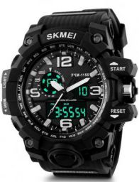Skmei AD1166 Analog-Digital Watch - For Men