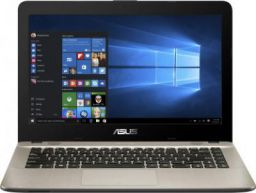 Asus VIVOBOOK Core i3 7th Gen - (4 GB/1 TB HDD/DOS) X441UA-GA508 Laptop  (14 inches, Black)