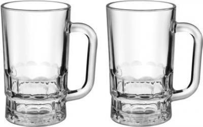 Treo GUSTO COOL Glass Mug (330 ml, Pack of 2)