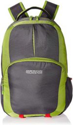 American Tourister 23 Ltrs Lime Green Laptop Bag
