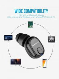 Ambrane H9 Bluetooth Headphone with Mic