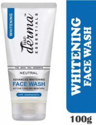 True Derma Essentials Advanced Whitening Active Cool Menthol Face Wash  (100 g)
