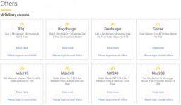 McDonald's Offer: BOGO, FreeBurger & Combos