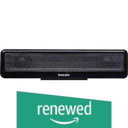 (Renewed) Philips Notebook Soundbar SPA1100