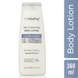 Skinbeing Daily Moisturizing Body Lotion, 360 ml