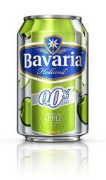 Bavaria Non Alcoholic Malt Drink Green Apple Can, 330ml
