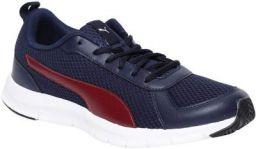 Puma Men's Flexracer 19 Idp Peacoat-Pomegranate Sneaker