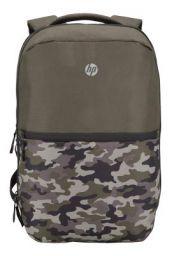HP Titanium 15-inch Laptop Backpack (Green Camo)