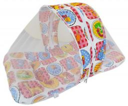 Amardeep and Co Toddler Mattress with Mosquito and Insect Protection Net 70 * 40 cms