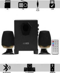 Altec Lansing AL-3005A 25 W Bluetooth Laptop/Desktop Speaker (Black, Beige, 2.1 Channel)