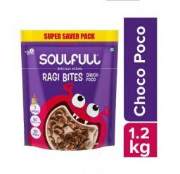 Soulfull Ragi Bites - Choco Poco, No Maida- 1.2kg