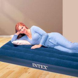Intex 68950 - Airbed, Blue, 191cmx76cmx22cm