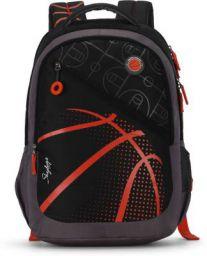 Skybags FIGO 04 BACKPACK BLACK 32 L Backpack  (Black, Grey, Orange)